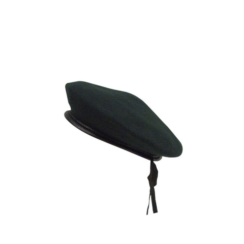 Green Monty Wool Berets - View
