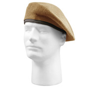 G.I. Type Inspection Ready Tan Beret - View