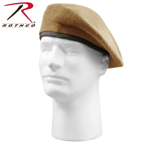 G.I. Type Inspection Ready Tan Beret - Rothco View