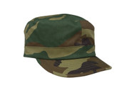 Women's Camo Fatigue Cap - Woodland Camo