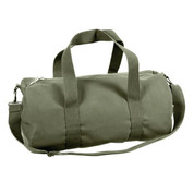 Army Olive Drab Canvas Shoulder Bag - View