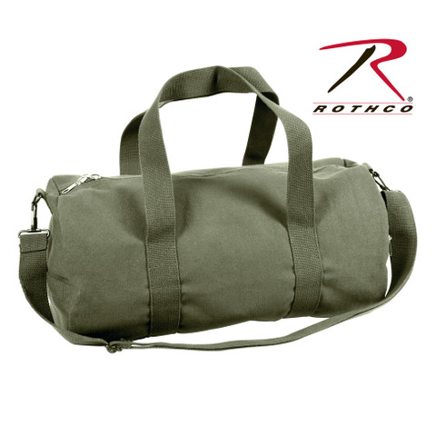 Army Olive Drab Canvas Shoulder Bag - Rothco View