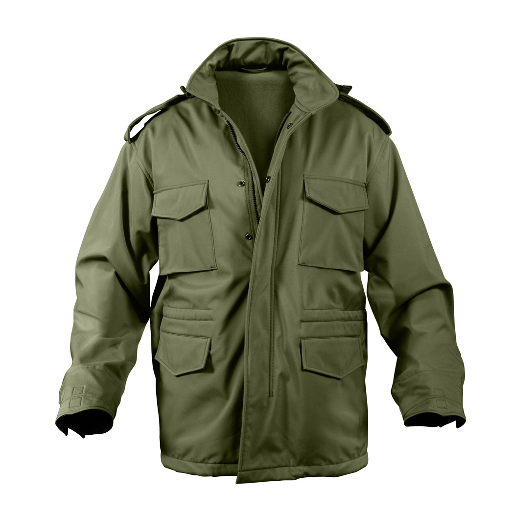 9a752980aa4 Shop Rothco Soft Shell Tactical M 65 Field Jackets - Fatigues Army Navy