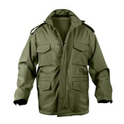Rothco Soft Shell Tactical M-65 Field Jacket - Olive Green