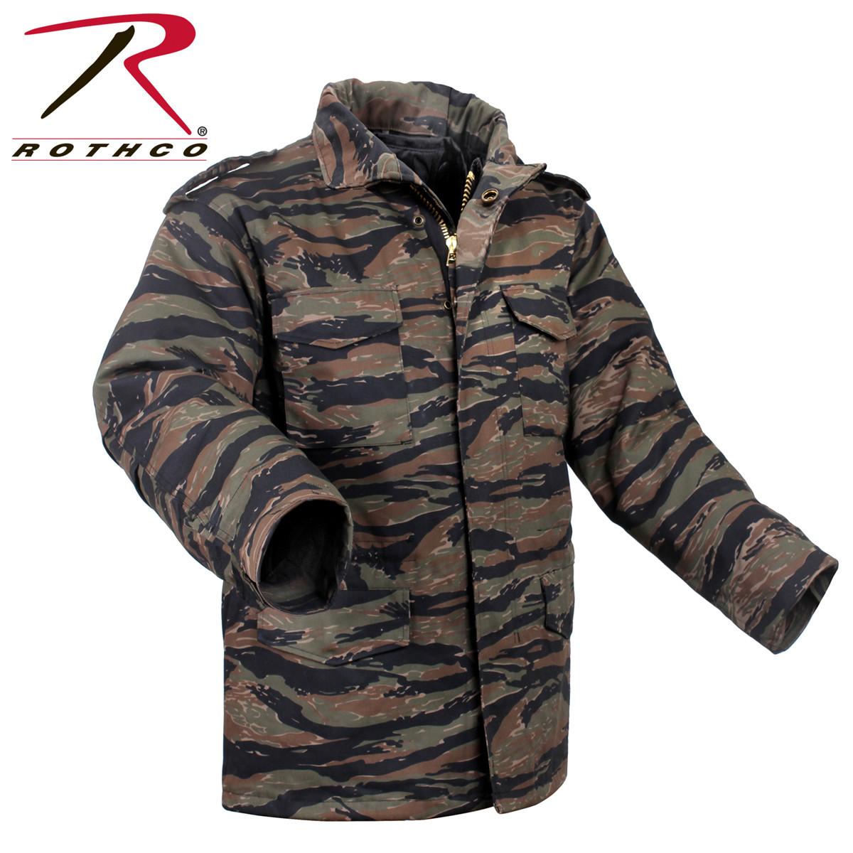 Shop Military Style Tiger Stripe M 65 Field Jackets