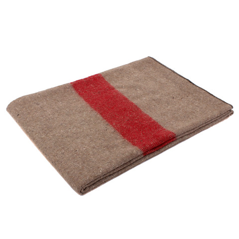 Swiss Army Style Wool Blanket - View