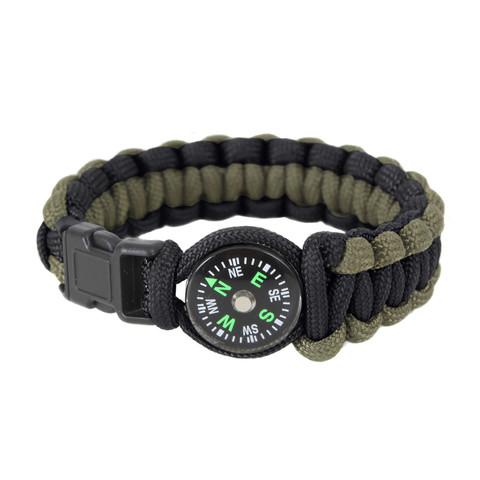 Paracord Compass Bracelet - View
