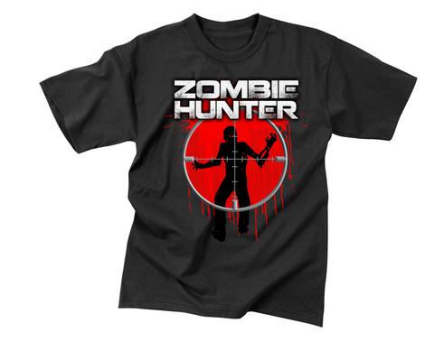 Zombie Hunter T Shirt - View