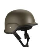 Military Style ABS Plastic Helmet - Olive Drab
