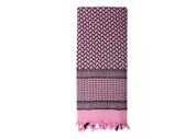 Rothco Pink Shemagh Desert Scarf - View