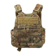 MultiCam MOLLE Plate Carrier Vest - Rear View