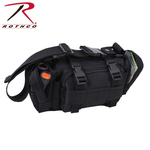 Rothco Black Tactical Convertipack - View