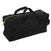 Jumbo Mechanics Canvas Tool Bag - Left Side View