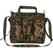 Woodland Digital Camo Medical Mag Shooters Bag - View