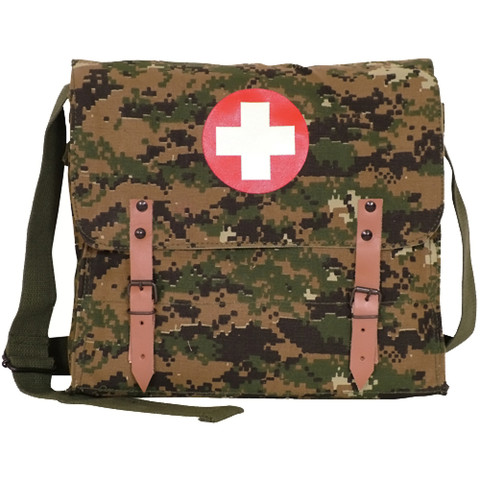 German Army Medic Bag - View