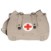 Khaki Euro Retro Medic Bag - View
