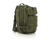 Olive Green Medium Transport Pack - Right Side View