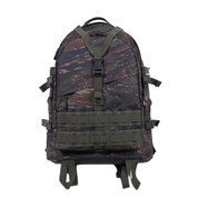 Tiger Stripe Camo Large Transport Pack - Front View