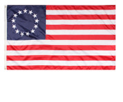 Colonial Betsy Ross Flag - View