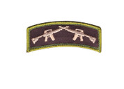 Crossed Rifle Morale Patch - View
