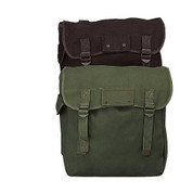 Canvas Musette Bags - Combo View