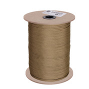 Coyote Brown Nylon Paracord 550lb 1000 Ft Spool - View