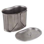 Stainless Steel Canteen Cup Lid - View