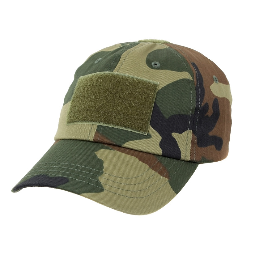 9c777cac6 Rothco Tactical Operator Cap - Woodland Camo