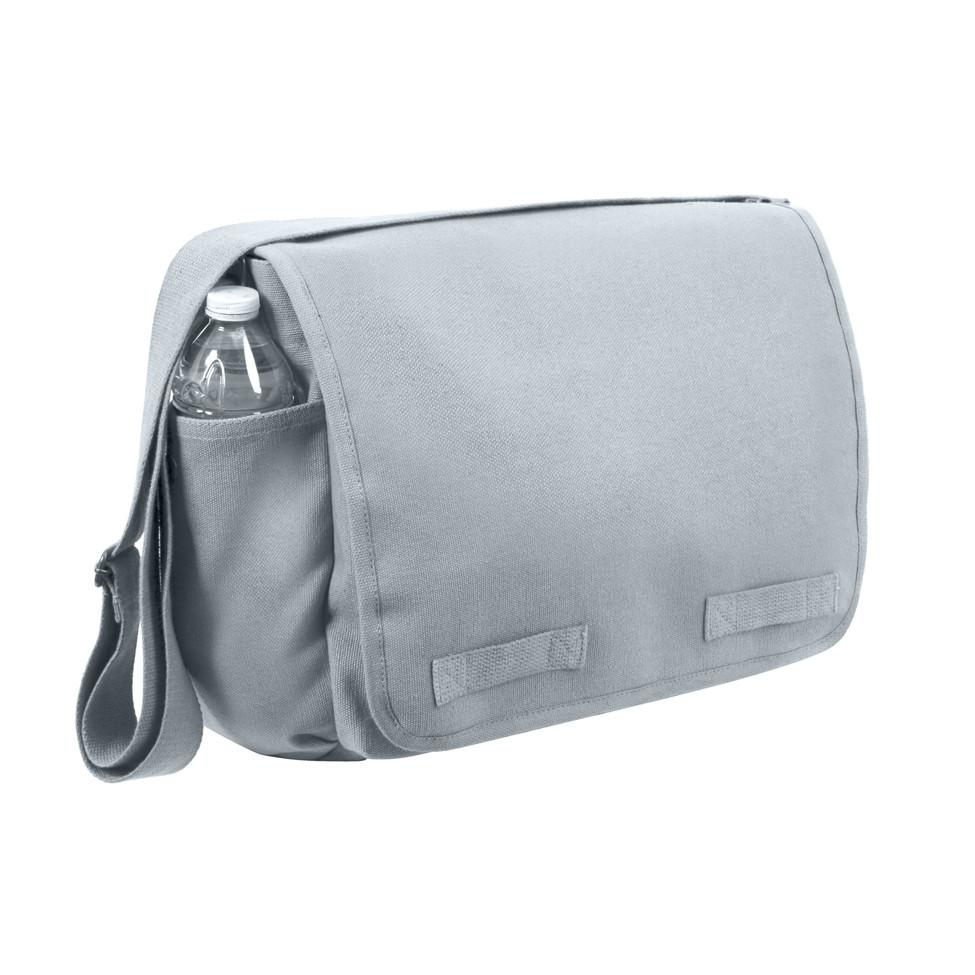 2fb8980f4 Shop Vintage Grey Canvas Messenger Bags - Fatigues Army Navy