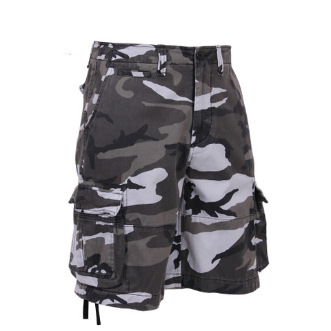 Rothco Vintage City Camo Infantry Utility Shorts - View