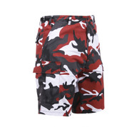 Rothco Red Camo BDU Short - Right Angle View