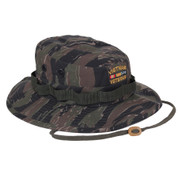 Vietnam Veteran Tiger Stripe Boonie Hat - View