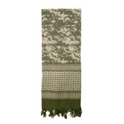 Digital Camo Desert Shemagh Scarves - ACU Digital Camo