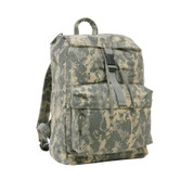 Kids Army Digital Camo Daypack - Angle Side View