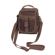 Classic Deluxe Travelers Shoulder Bag - Full View w/ Shoulder Strap