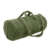 Olive Drab Canvas Double Ender Sports Bag - View