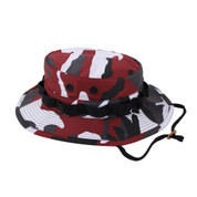 Red Camo Boonie Hat - View