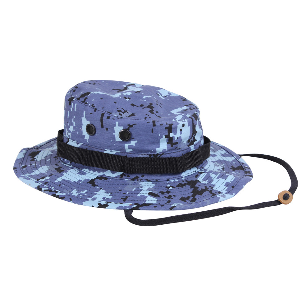 8f1f312faa06e Shop Blue Digital Camo Boonie Hats - Fatigues Army Navy Gear