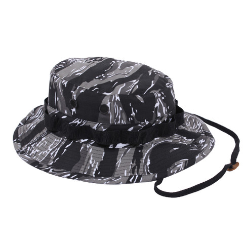 Urban Tiger Stripe Camo Boonie Hat - View