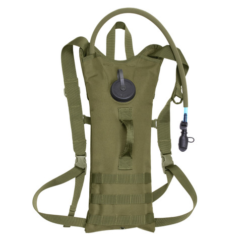 MOLLE 3 Liter Backstrap Hydration System - Front View
