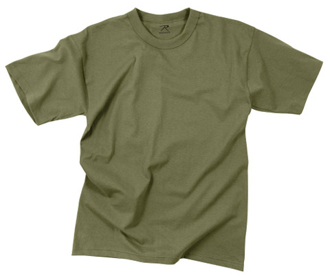 Olive Drab Moisture Wicking T Shirts - View