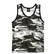 City Camo Tank Top - View