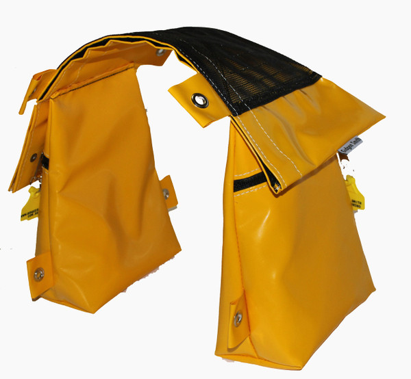 Zip flap is also a pocket that has  Velcro to close.  This is great for fence testers or medical supplies such as a epipen,   or sugar diabetes needs