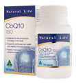 Natural Life CoQ10 150mg 130 Capsules
