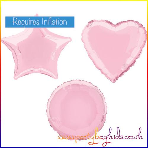 Dusky Pink Foil Balloon Selection