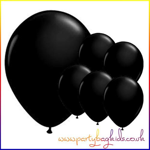 Midnight Black Balloon Pack