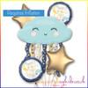 Twinkle Little Star Balloon Bouquet