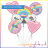 Magical Rainbow Balloon Bouquet Kit