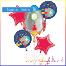 Rocket Blast Off Balloon Bouquet Kit