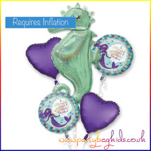 Mermaid Balloon Bouquet Kit